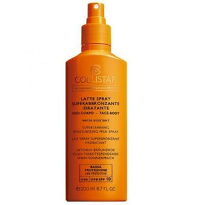 Collistar LATTE SPRAY SUPERABBRONZANTE IDRATANTE Bassa 6 - 200 ml - MIA PROFUMERIA
