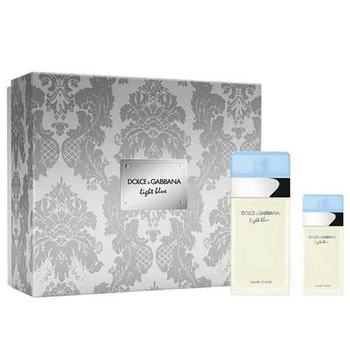 Dolce & Gabbana LIGHT BLUE Set Eau de Toilette Vapo 100 ml + Eau de Toilette Vapo 25 ml - MIA PROFUMERIA