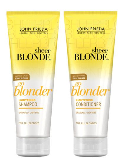 John Frieda Sheer Blonde Kit Shampoo 250 ml + Balsamo 250 ml - MIA PROFUMERIA