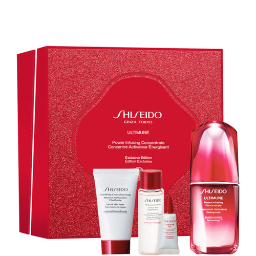 Shiseido Set ULTIMUNE Power Infusing Concentrate 50 ml + Mini taglie