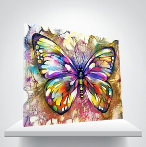 Paint by Numbers Kit Colorful Butterfly