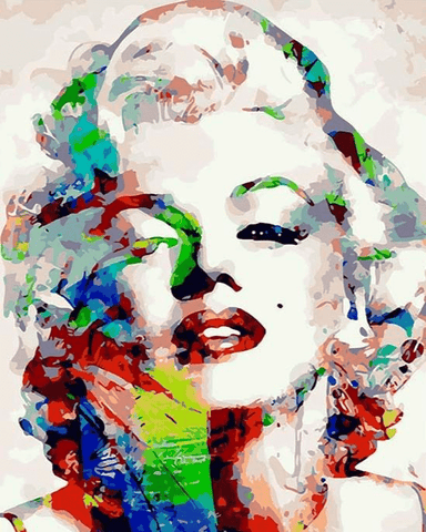 Marilyn Monroe Paint By Number Kit
