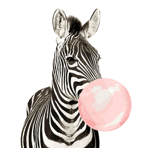 Painting by Numbers Kit Animal Zebra Modern Art