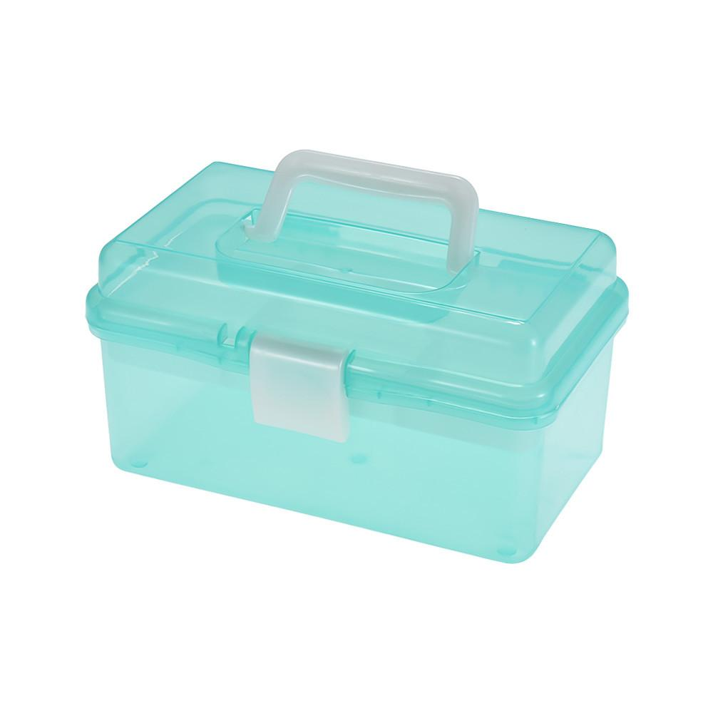 Clear Plastic Art Storage Box - Just Paint by Number