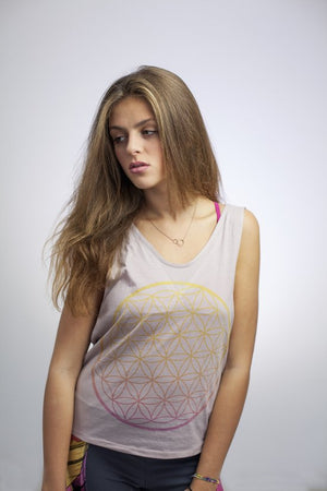 FLOWER OF LIFE TOPS