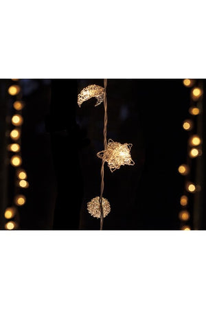 Golden/ silver fairy lights
