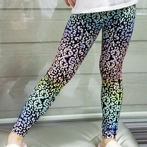 Ode to Lisa Frank Leopard Youth Leggings