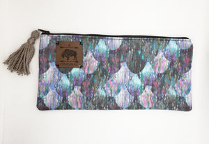 Oh Mer-Gal (OMG) Pencil Pouch with Taupe Tassel