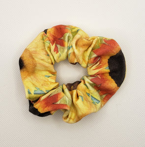 Sunflower Field Scrunchie