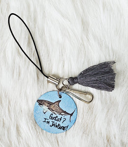 Great? I'm Jawsome! Shark Phone Charm