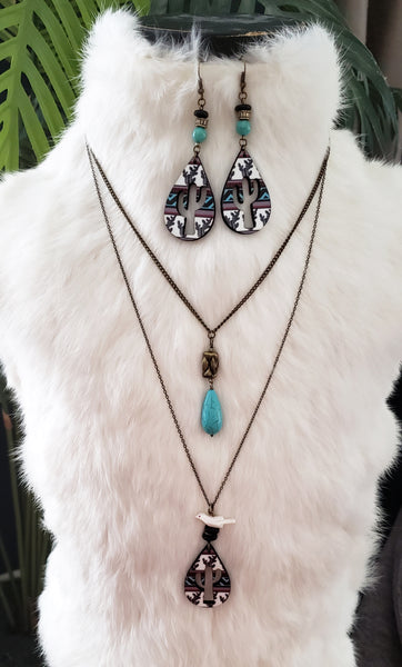 Turquoise Falsa Necklace