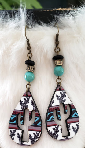 Turquoise Falsa Earrings