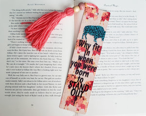 Sunset Poppy Stand Out Bookmark