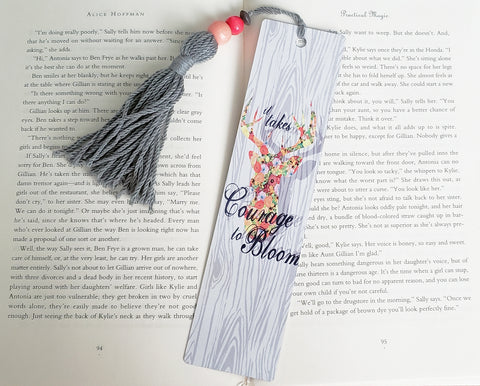 Courage to Bloom Bookmark