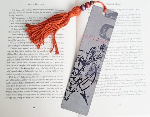 Flying Buffalo Bookmark