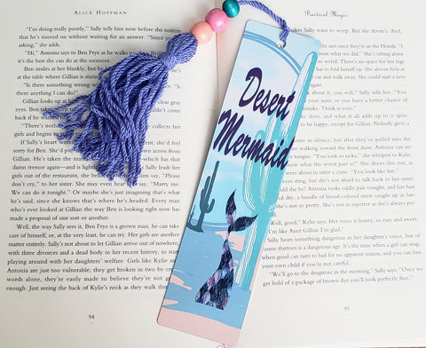 Desert Mermaid Bookmark