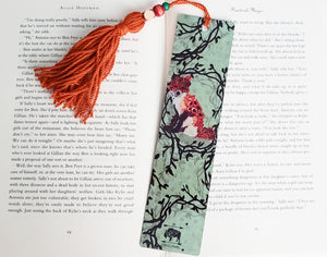 Floral Fox Bookmark