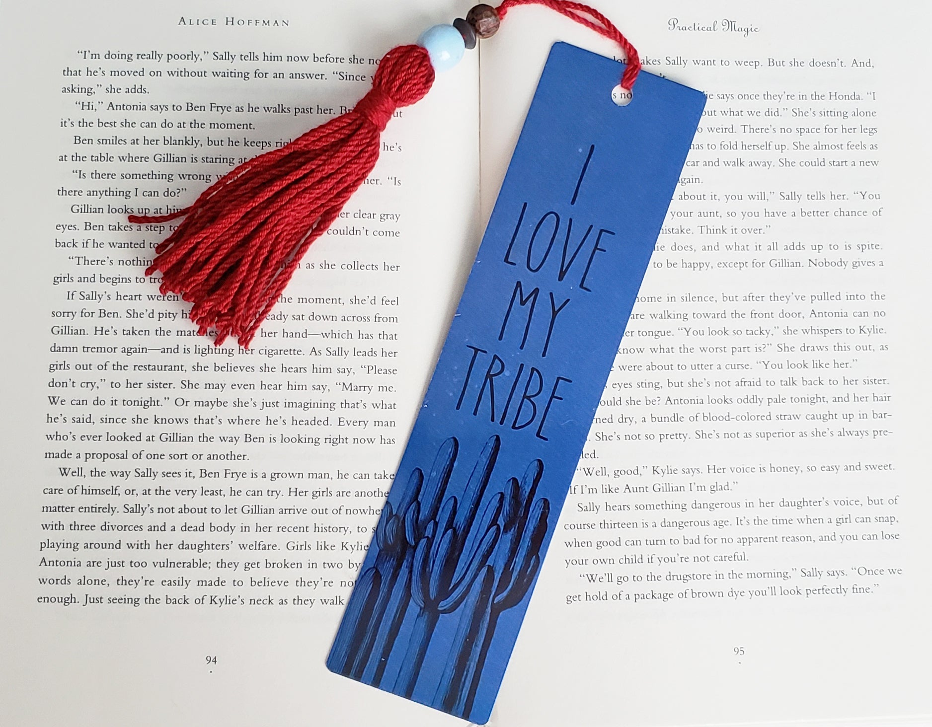 I Love My Tribe Bookmark