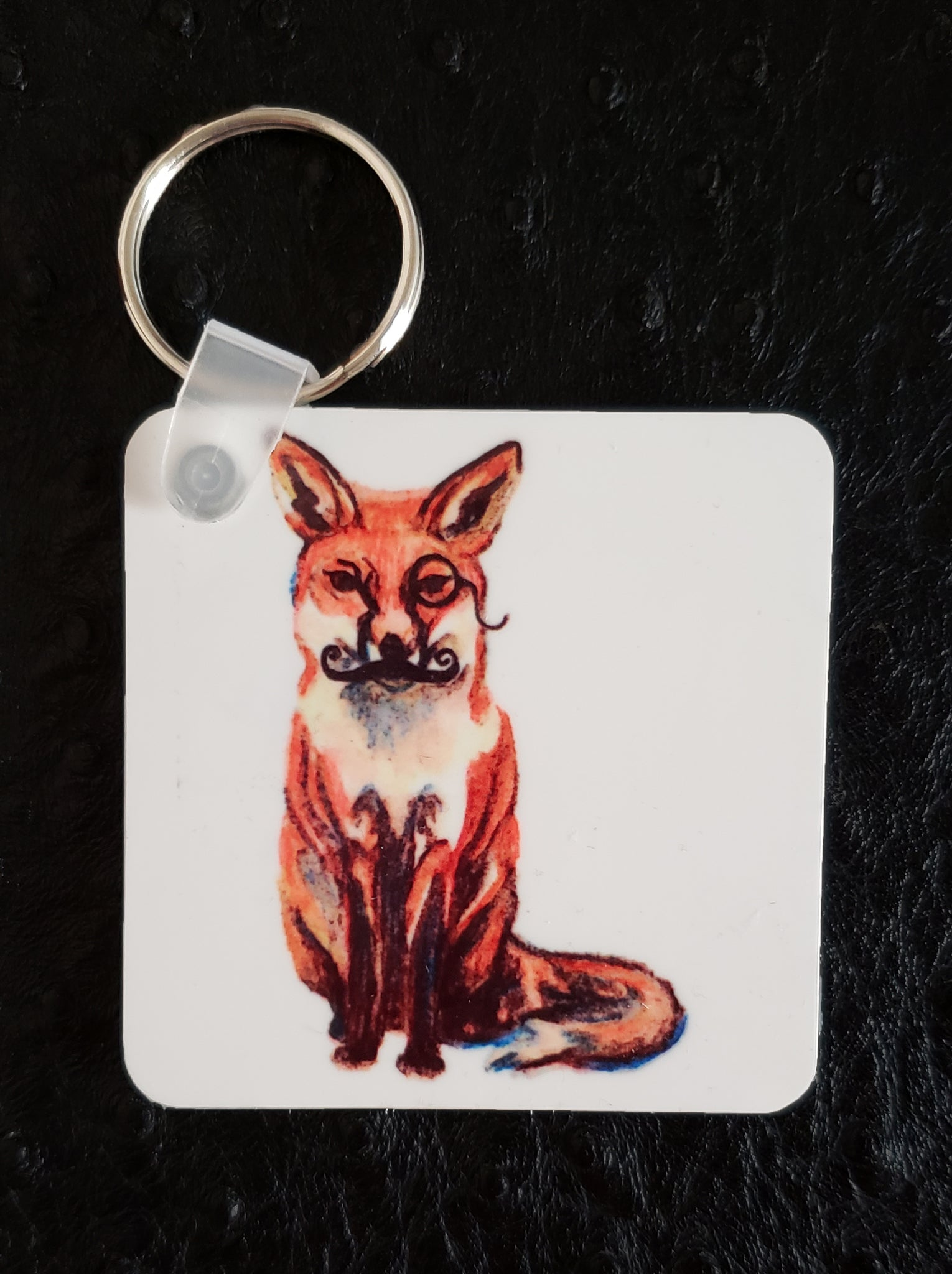 Foxy Square Acrylic Key Chain