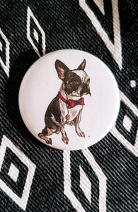 Good Boy, Mr. Pickles Button Pin