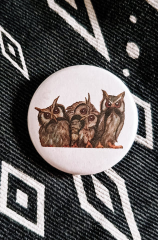 Wise, Wiser, Wisest Button Pin