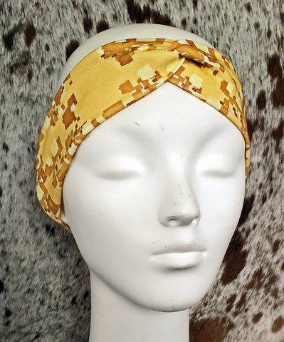 Arizona Desert Digi Cam Turban Headband