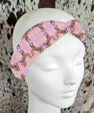 Tatted Unicorn Turban Headband