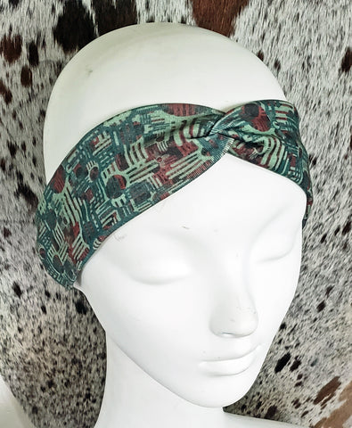 Zia Cross Turban Headband