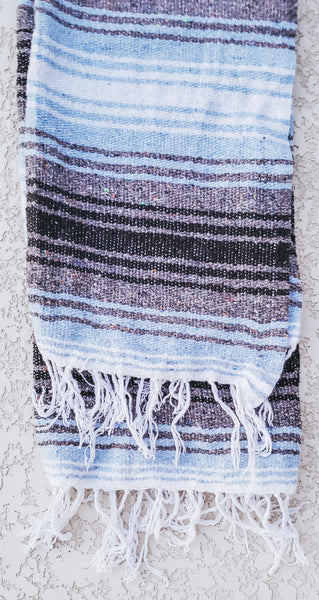 Baby Blue Mexican/Falsa Blanket