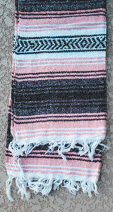 Baby Pink Mexican/Falsa Blanket