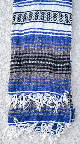 True Blue Mexican/Falsa Blanket