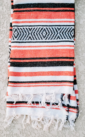 Orange Mexican/Falsa Blanket