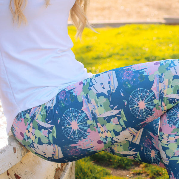 Happiest Place On Earth Leggings