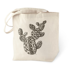 Aztec Prickly Pear Tote Bag