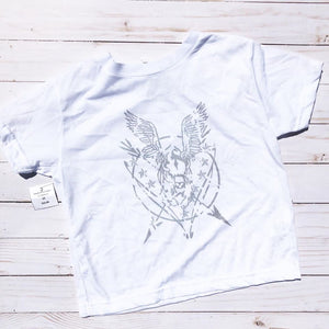 Flying Buffalo Grunge Seal Toddler T-Shirt