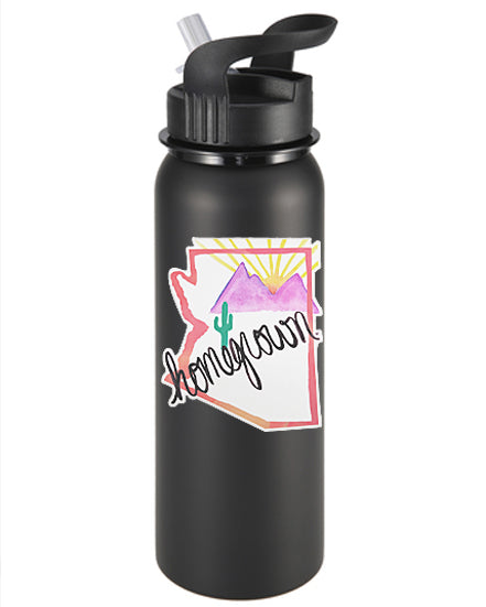 Arizona Homegrown (pink) Vinyl Sticker/Decal