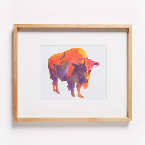 Arizona Sky Buffalo Print