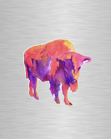 Arizona Sky Buffalo Vinyl Sticker/Decal