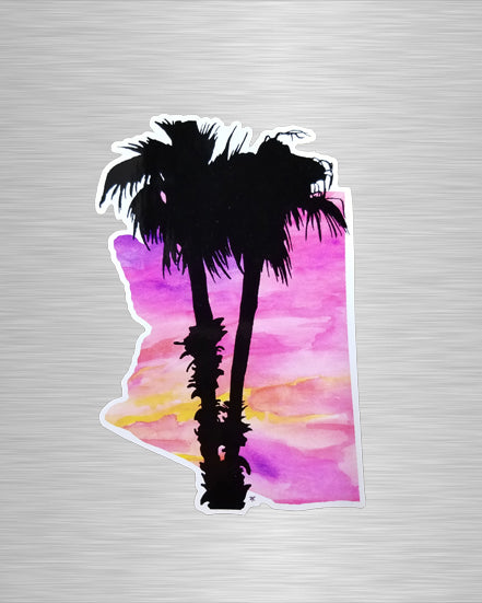 Arizona Summer Nights Vinyl Sticker/Decal