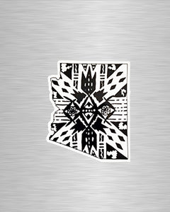 Aztec Arizona Vinyl Sticker/Decal