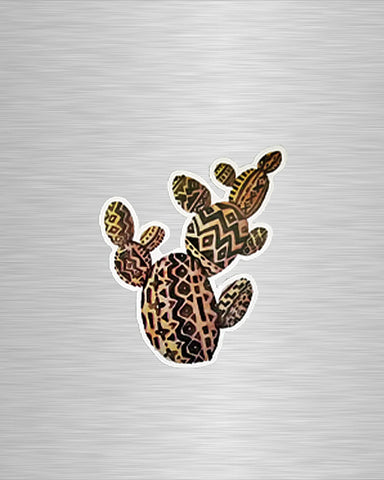 Aztec Prickly Pear Vinyl Sticker/Decal