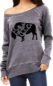 Buffalo Gals Co. (BGC) Acid Fleece Sweat Shirt