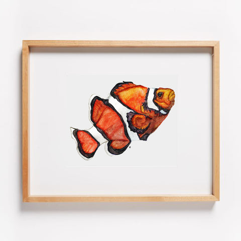 Clown Fish Print