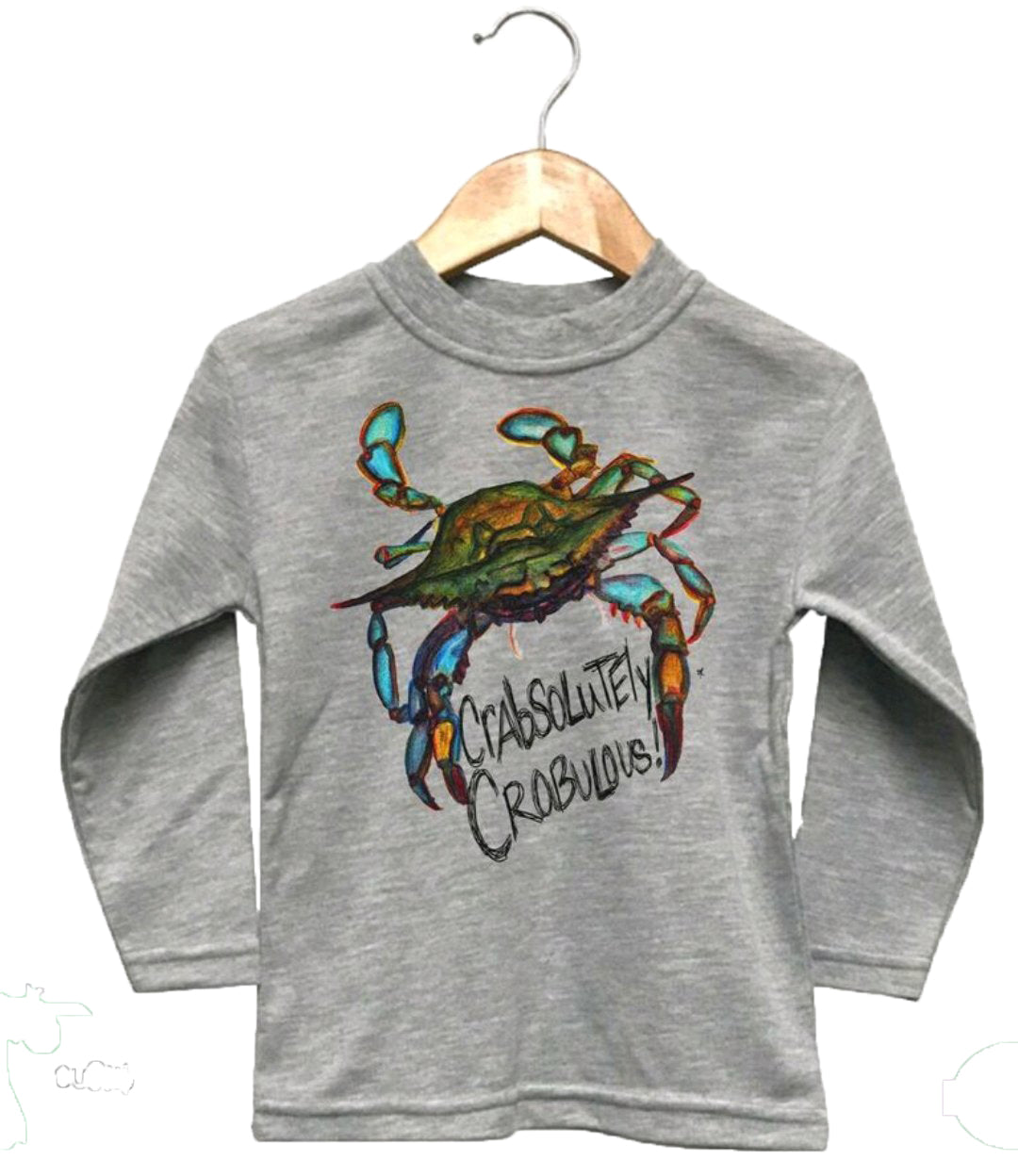 Crabsolutey Crabulous Toddler Long Sleeve T-Shirt