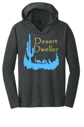 Desert Dweller Hooded Long Sleeve Shirt