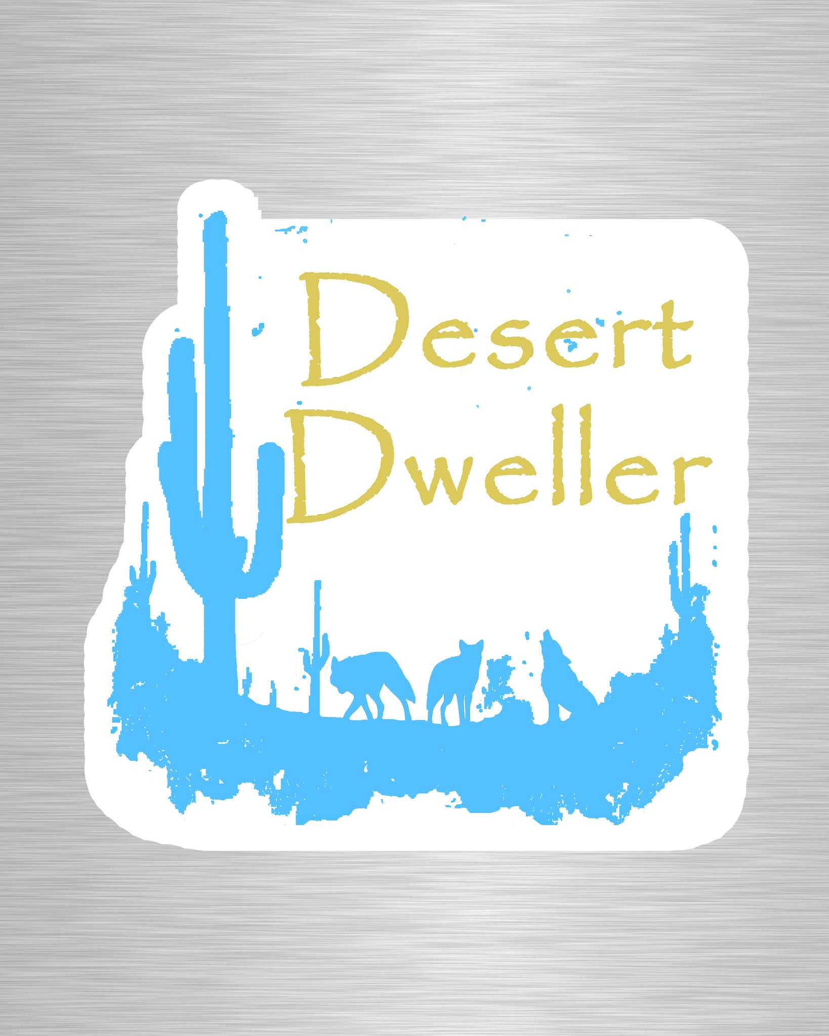 Desert Dweller Sticker/Decal