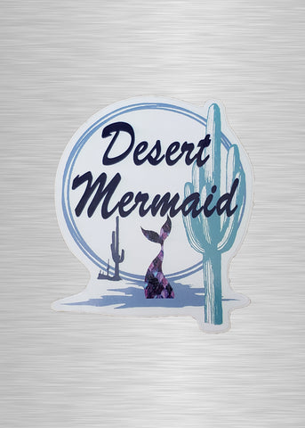 Desert Mermaid Sticker/Decal