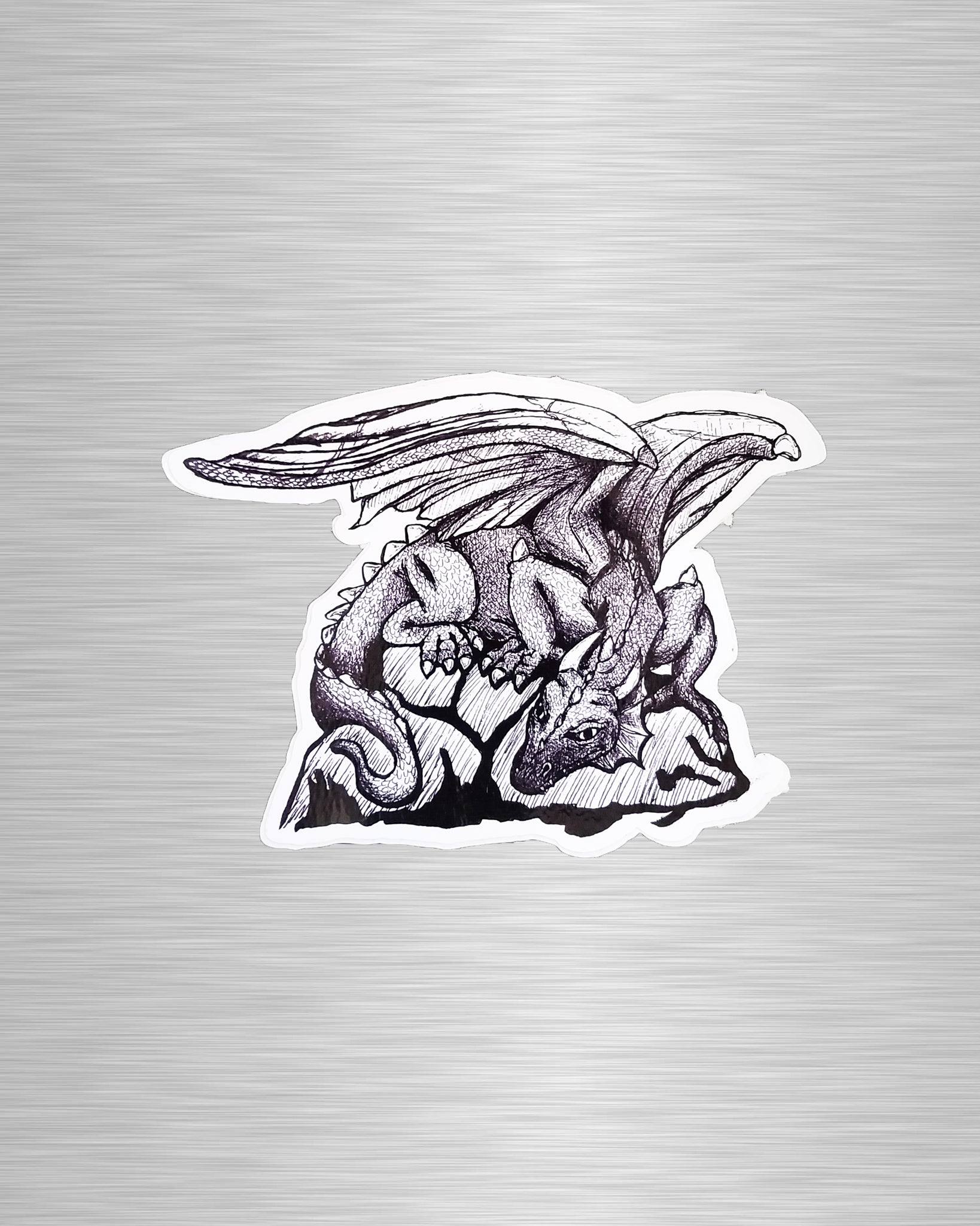 Dragon Vinyl Sticker/Decal