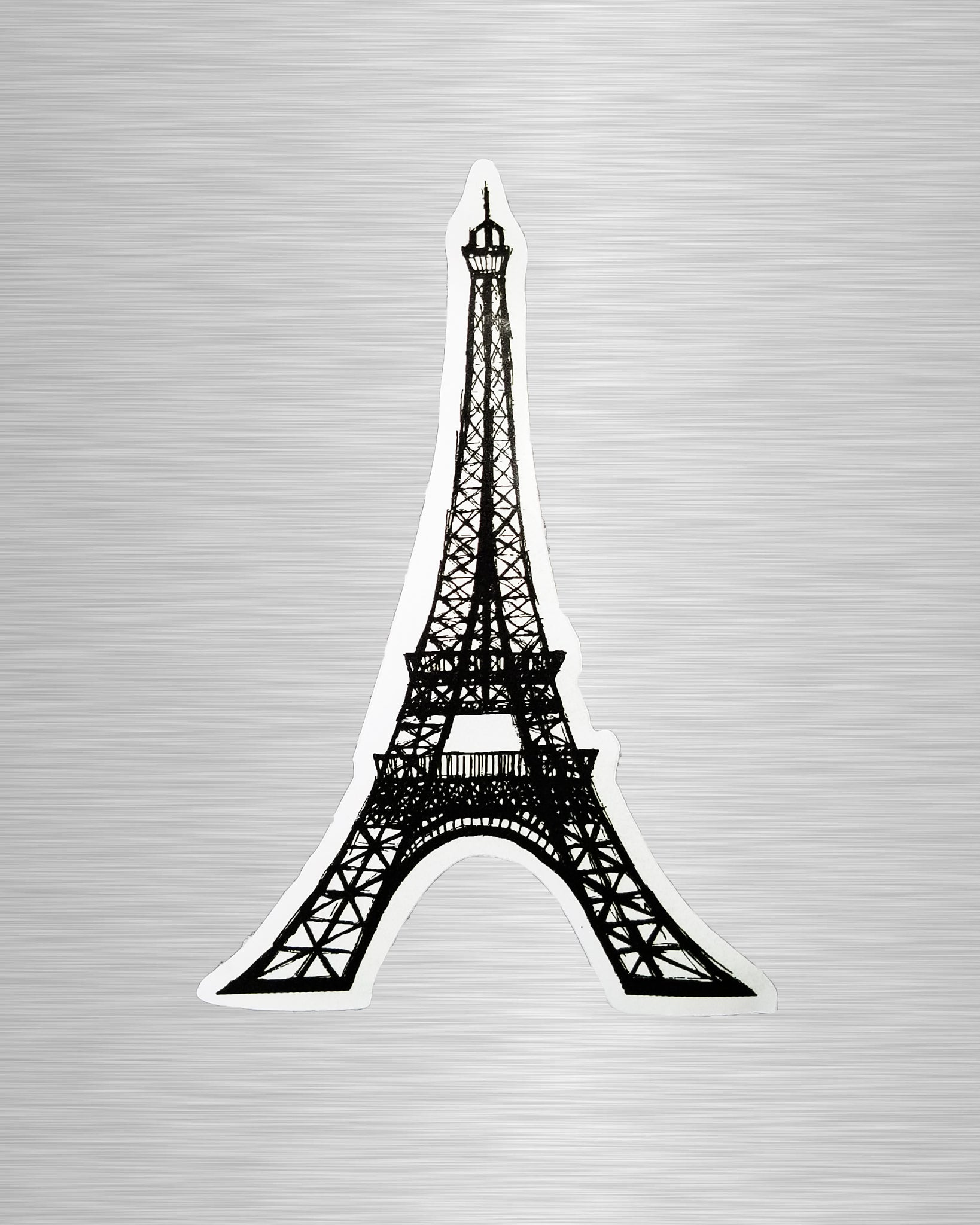 Eiffel Tower Sketch Sticker/Decal