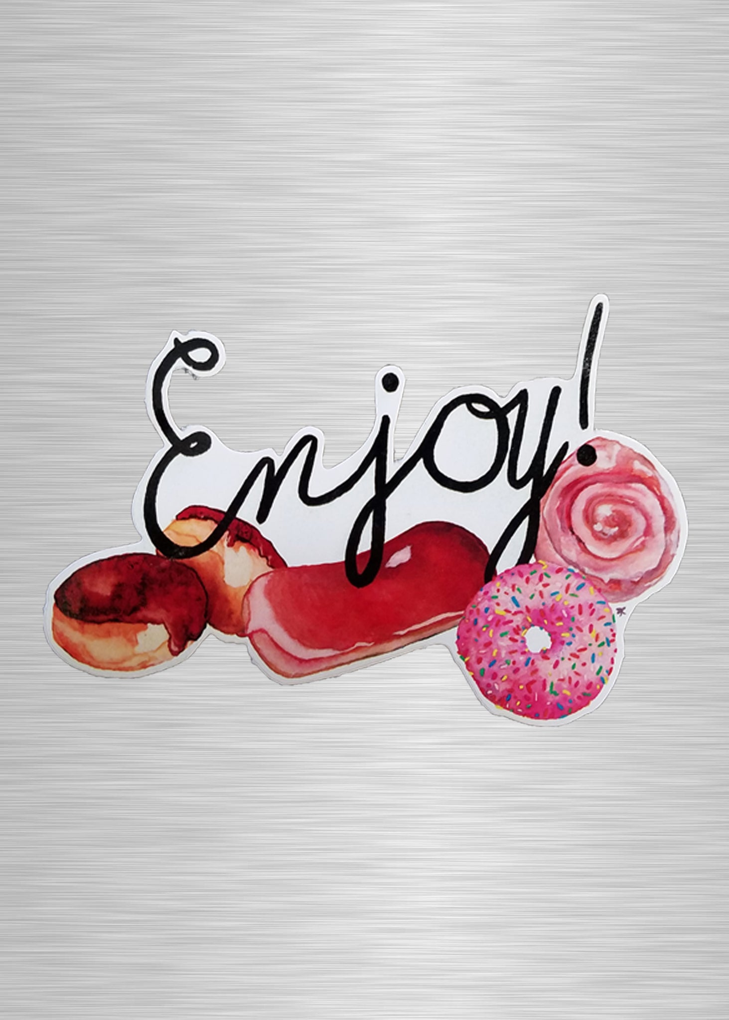Enjoy All the Donuts Vinyl Sticker/Decal